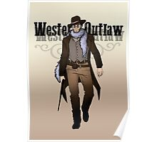 Western Outlaw Poster