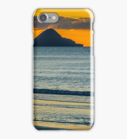 Whale Island at Sunset iPhone Case/Skin