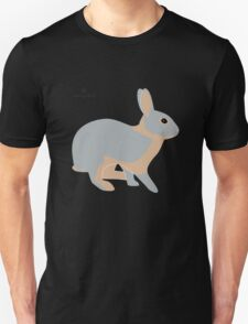 lilac tan rabbit T-Shirt