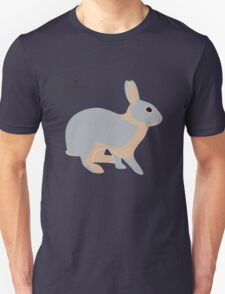 lilac tan rabbit Unisex T-Shirt