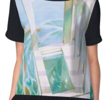 diver's abode. Chiffon Top