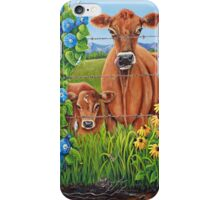 Fence Post Curiosity iPhone Case/Skin