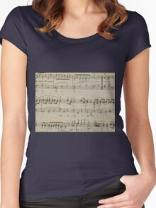 Minuet in G   Women's Fitted Scoop T-Shirt
