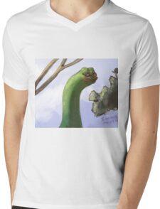 Rare Pepe Meme Mens V-Neck T-Shirt