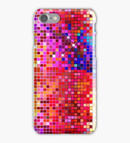 Metallic Colorful Sequins Look-Disco BallGlitterPattern  iPhone Case/Skin