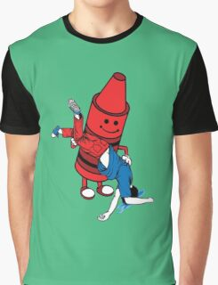 Crayon Role Reversal Graphic T-Shirt