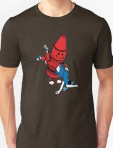Crayon Role Reversal Unisex T-Shirt