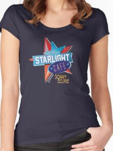 Cosmic Ray's // Sonny Eclipse Women's Fitted Scoop T-Shirt