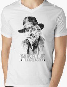 Haggard Mens V-Neck T-Shirt