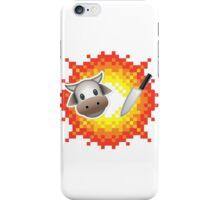 Cow Chop! iPhone Case/Skin