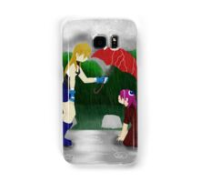 An Umbrella in the Rain Samsung Galaxy Case/Skin