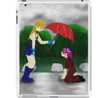 An Umbrella in the Rain iPad Case/Skin