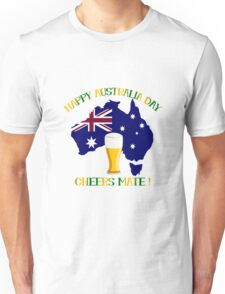 Happy Australia Day Unisex T-Shirt