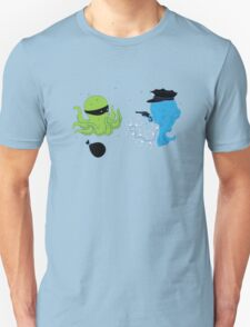 Funny Fish And Octopus T-Shirt