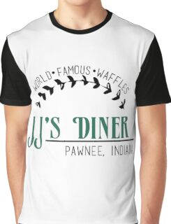 JJ's Diner - Parks and Recreation Graphic T-Shirt