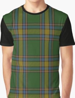 00105 Alberta District Tartan  Graphic T-Shirt