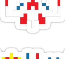 Galaga Game Sticker