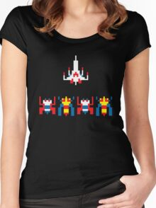 Galaga Game Women's Fitted Scoop T-Shirt