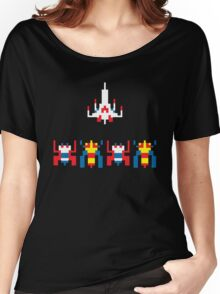 Galaga Game Women's Relaxed Fit T-Shirt