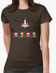 Galaga Game Womens Fitted T-Shirt