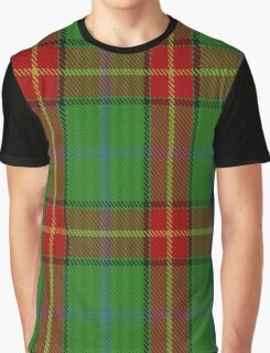 00113 Manitoba District Tartan  Graphic T-Shirt