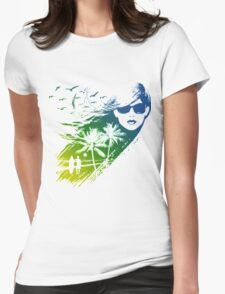 cool summer Womens Fitted T-Shirt