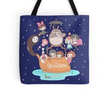 love it ghibli studio Tote Bag