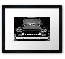 1958 Chevy Apache Pickup Framed Print