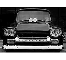 1958 Chevy Apache Pickup Photographic Print