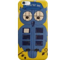 WHO OWL iPhone Case/Skin