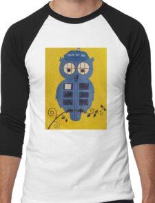 WHO OWL Men's Baseball ¾ T-Shirt