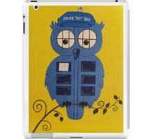 WHO OWL iPad Case/Skin