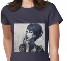 I Walk In the Clouds Womens Fitted T-Shirt