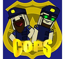 Unturned -  (Cops) - by Quikdraw Photographic Print