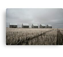 Five Sheds Canvas Print
