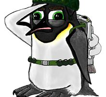 Penguin of Militaristic Might by Ruairidh Duncan