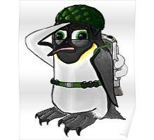 Penguin of Militaristic Might Poster