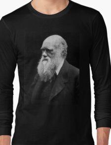 Darwin portrait Long Sleeve T-Shirt