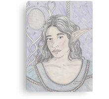 Elf Maiden Canvas Print