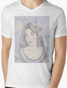 Elf Maiden Mens V-Neck T-Shirt