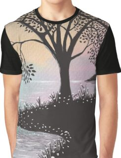 evening sky Graphic T-Shirt