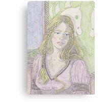 Fantasy Woman Canvas Print