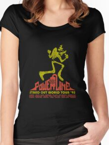 Powerline Women's Fitted Scoop T-Shirt