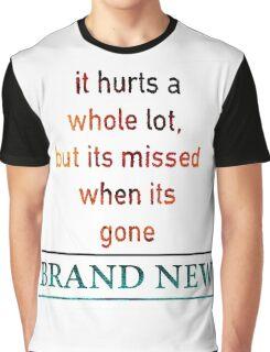 Brand New Lyrics Graphic T-Shirt