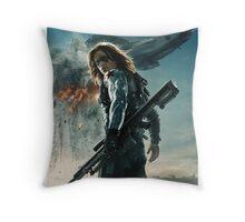 Winter Soldier  Throw Pillow