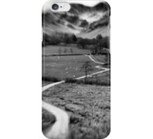The Valley Below iPhone Case/Skin