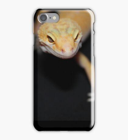 Orange Leopard Gecko iPhone Case/Skin