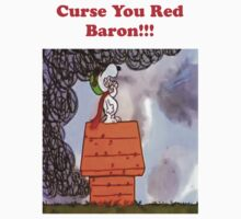 Curse you Red Baron! Kids Tee