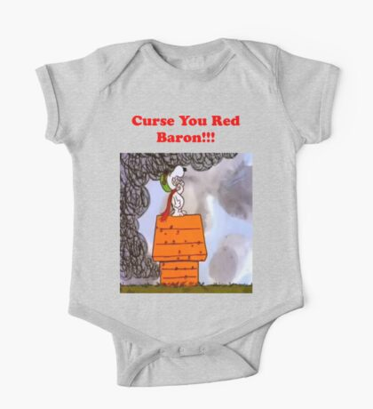 Curse you Red Baron! One Piece - Short Sleeve