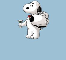 Cute Brian Unmasked Snoopy Unisex T-Shirt